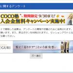1円アンケートがポイントサイトで増殖中です(´・ω・`)